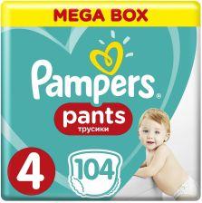 Pampers Pants MB rozmiar 4, 104 pieluszki