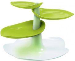 Zak Design zak! design piętrowa patera do ciasta biało/zielona duża - opinie i