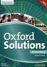 Oxford Solutions Elementary Student's Book 2015