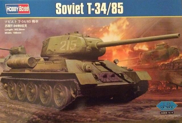 Hobby Boss Wwii Soviet T-34/85 82602