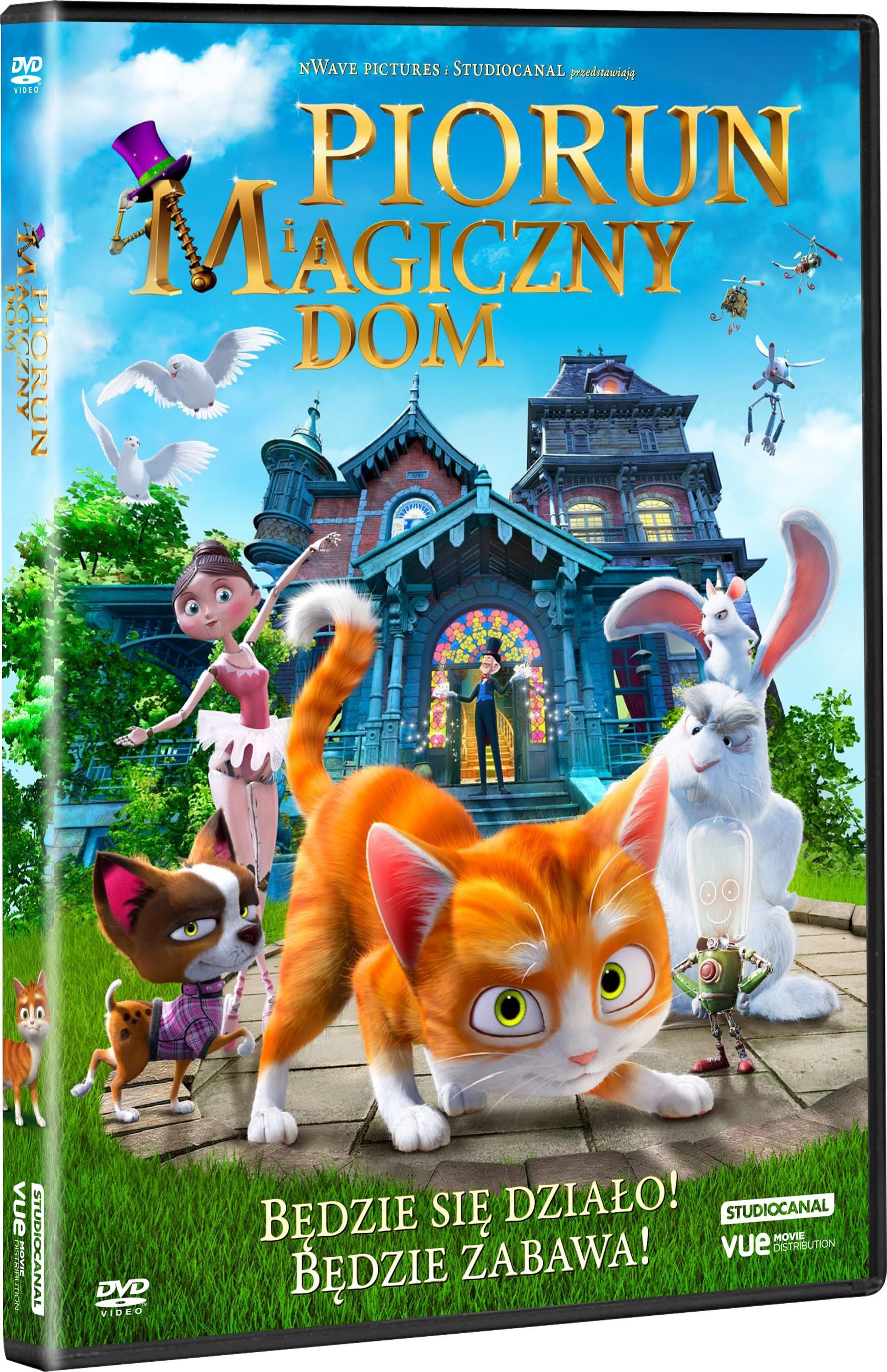 Film Dvd Piorun Magiczny Dom Dvd Ceny I Opinie Ceneopl