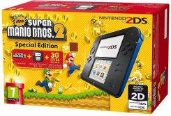 Nintendo 2DS Czarny + New Super Mario Bros. 2 Special Edition