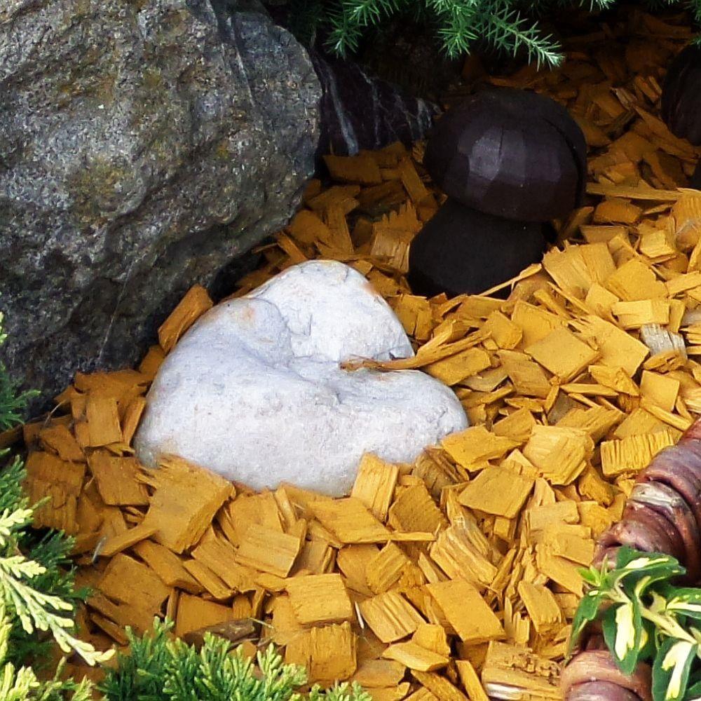 Wokas Zrębki Dekoracyjne żółte 149kg 50l