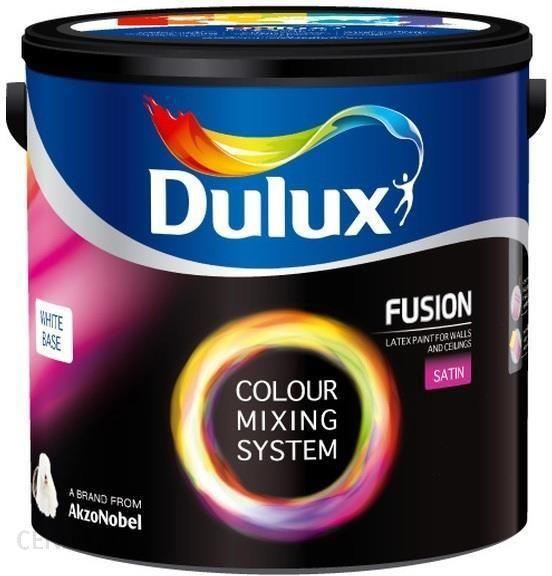 Dulux Fusion Satin White Biała 900ml