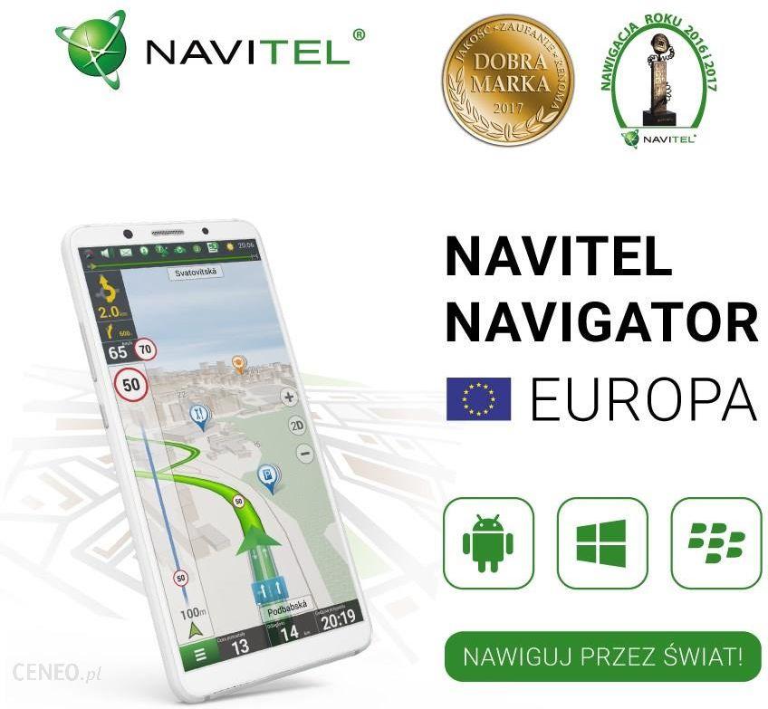 Mapa Do Nawigacji Navitel Navigator Europa Lifetime Opinie I