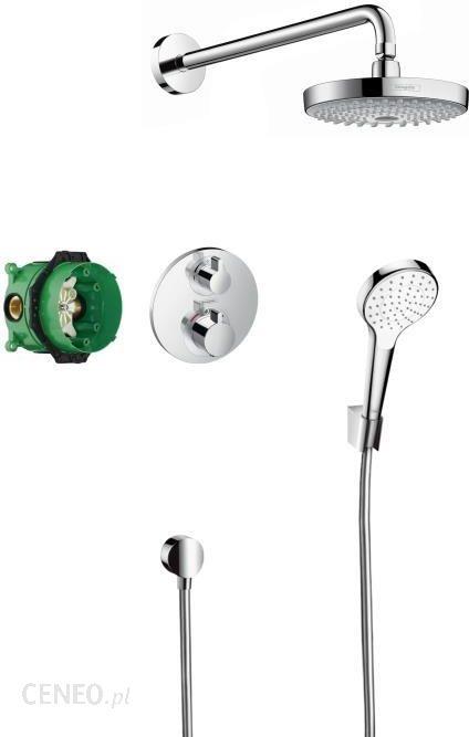 Zestaw Prysznicowy Hansgrohe Croma Select Secostat S Podtynkowy Z