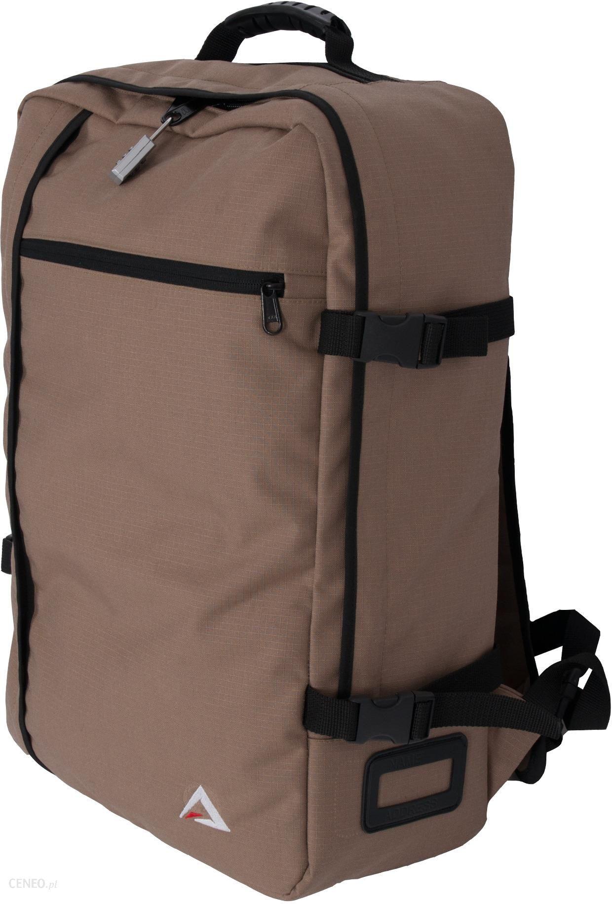 a066cbce1b575 Torbo-plecak bagaż podręczny do samolotu 41 l + kłódka Marbo 02-085 ...
