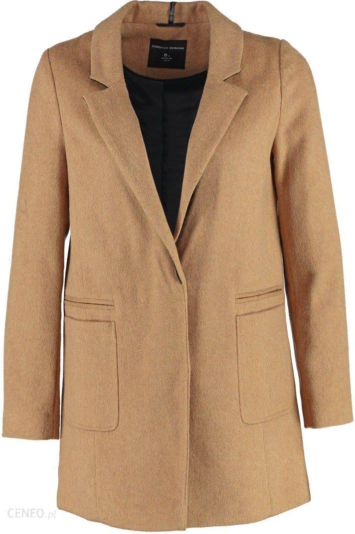 c145d667812e8 Dorothy Perkins Krótki płaszcz light brown - Ceny i opinie - Ceneo.pl