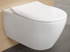 Miska WC Villeroy&Boch Subway 2.0 Direct Flush 56x37 + Slim Seat 5614R201 - zdjęcie 1