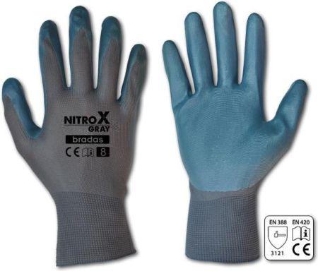 657deabb3223f Bradas Rękawice Ochronne Nitrox Gray Nitryl Rozmiar 9 (rwngy9) - Ceny i  opinie - Ceneo.pl