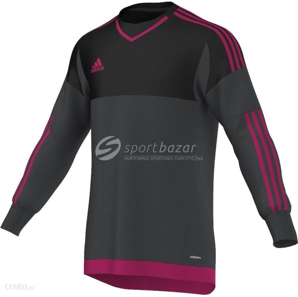 f680fab046a83 BLUZA BRAMKARSKA adidas TOP 15 GK grafitowo/czarno/różowa roz S /S29438 -