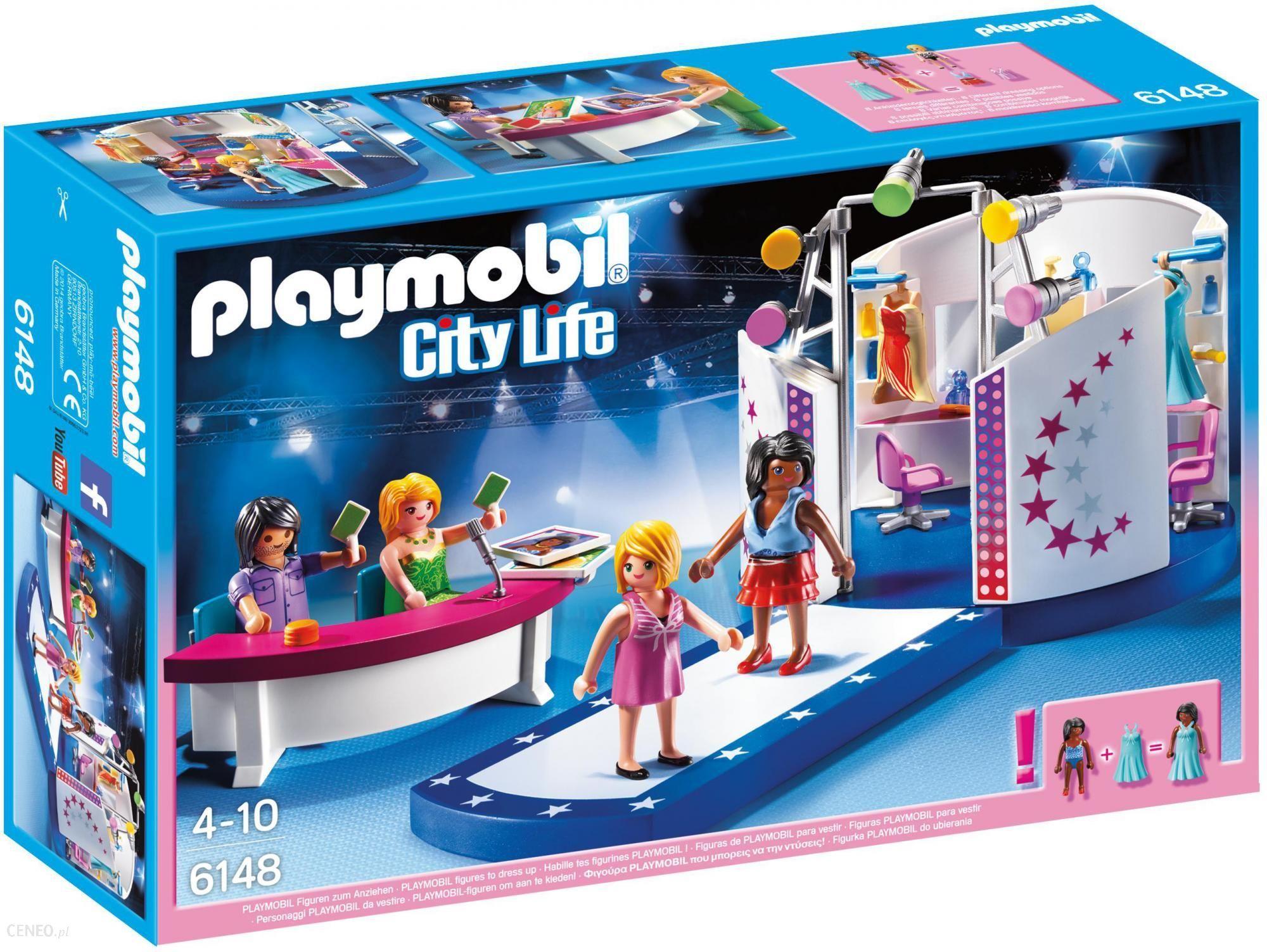 Klocki Playmobil City Life Casting Modelek na Wybiegu 6148 - Ceny ...