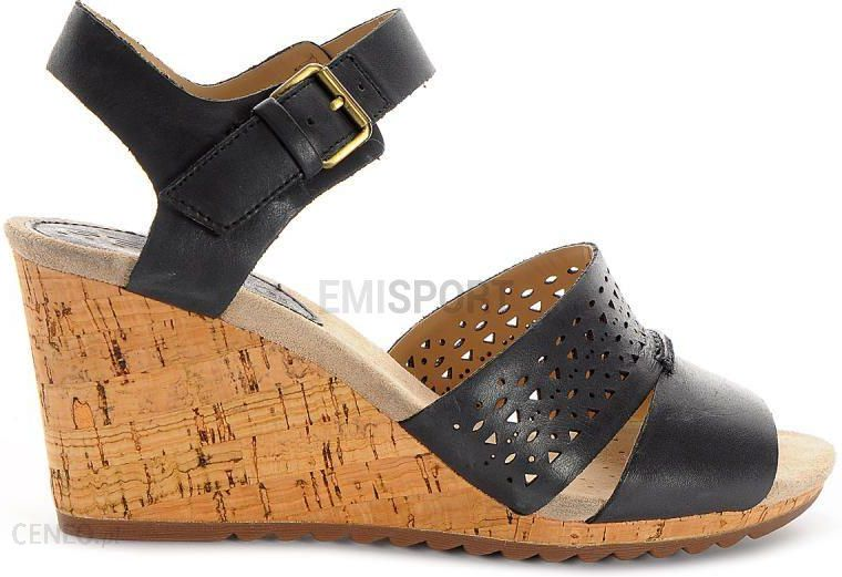 Geox Sandały Damskie Alias London, Geox Czarny, Geox Boots A