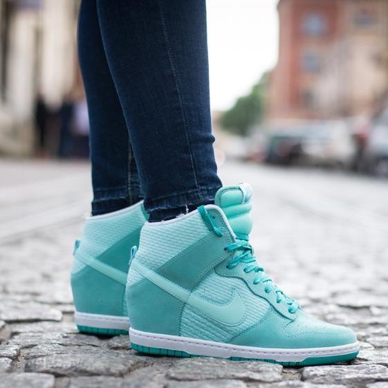 ... purchase buty sneakersy nike wmns dunk sky hi essential 644877 303  mitowy zdjcie 1 edeba 284de ... 72a0b97cd7