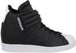 buty damskie sneakersy koturny adidas originals superstar up strap s81350