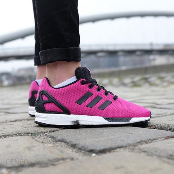 Różowe Buty adidas Zx Flux K Jr M21294 | Buty sportowe