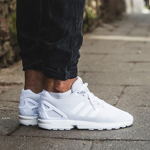 buty adidas zx flux męskie białe