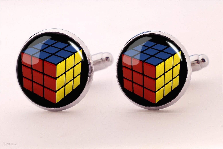 Kostka Rubika Spinki Do Mankietow Ceneo Pl