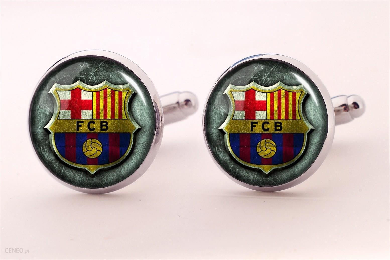 Fc Barcelona Spinki Do Mankietow Ceneo Pl
