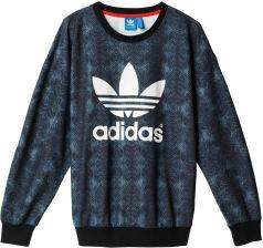 Bluza adidas Originals Trefoil Snake Allover Print Sweatshirt AB2102