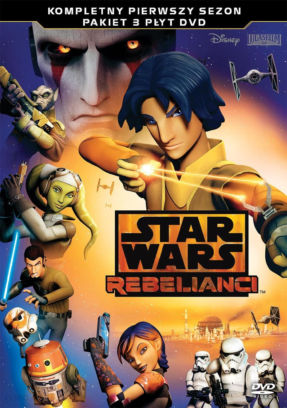 Star Wars Rebelianci Sezon 1 Dvd