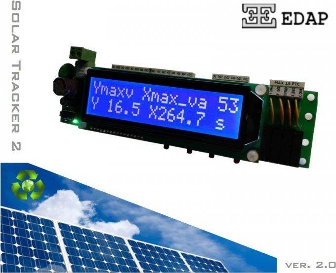 Edap Sterownik Paneli Słonecznych Astronomiczny Solar Tracker 2 Na