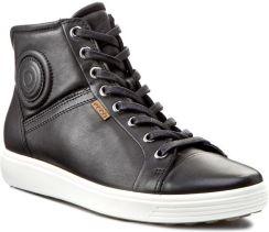 e1ac9dbb Sneakersy ECCO - Soft 7 Ladies 43002301001 Black eobuwie