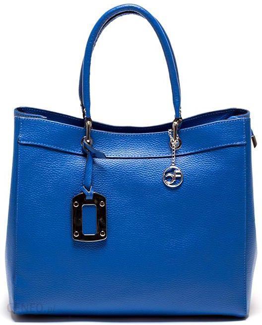 796d24a754c4d Carla Ferreri Torebka w kolorze niebieskim - Ceny i opinie - Ceneo.pl