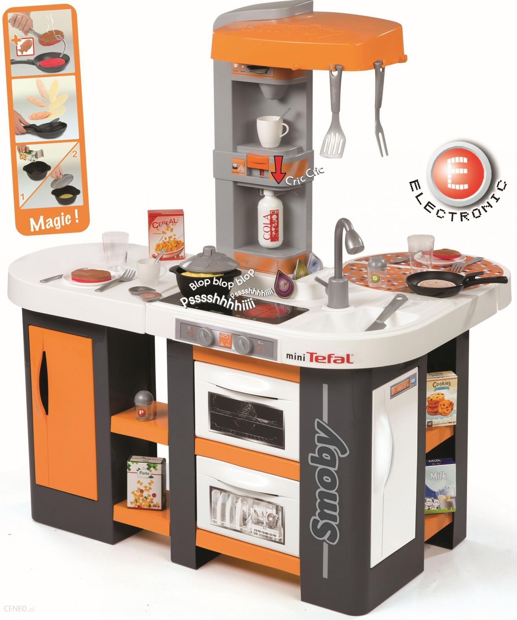 Smoby Kuchnia Mini Tefal Studio Xl 311002 Ceny I Opinie Ceneo Pl