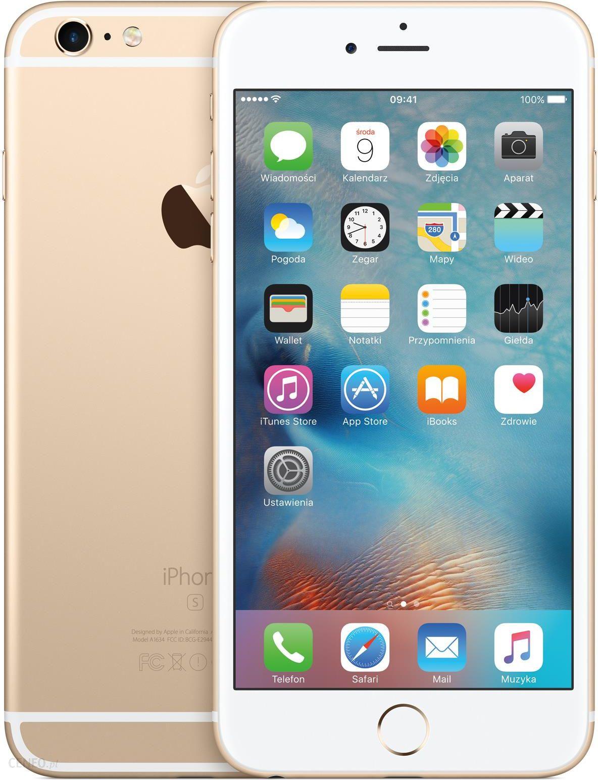 85551e8fe1c1 Apple iPhone 6S Plus 128GB Złoty - Ceny i opinie na Ceneo.pl
