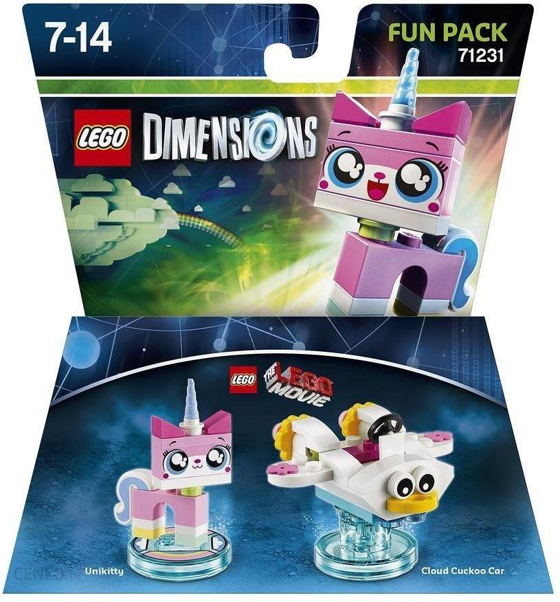 Lego Dimensions Fun Pack Lego Przygoda Unikitty Ceny I Opinie