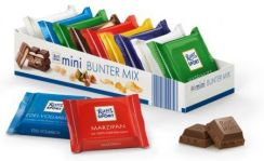Mini Czekolady Ritter Sport Mini Bunter Mix 150G