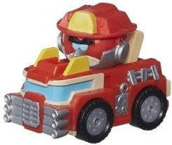 Angry Birds Transformers Jenga Vehicle Heatwave the Fire-Bot Bird