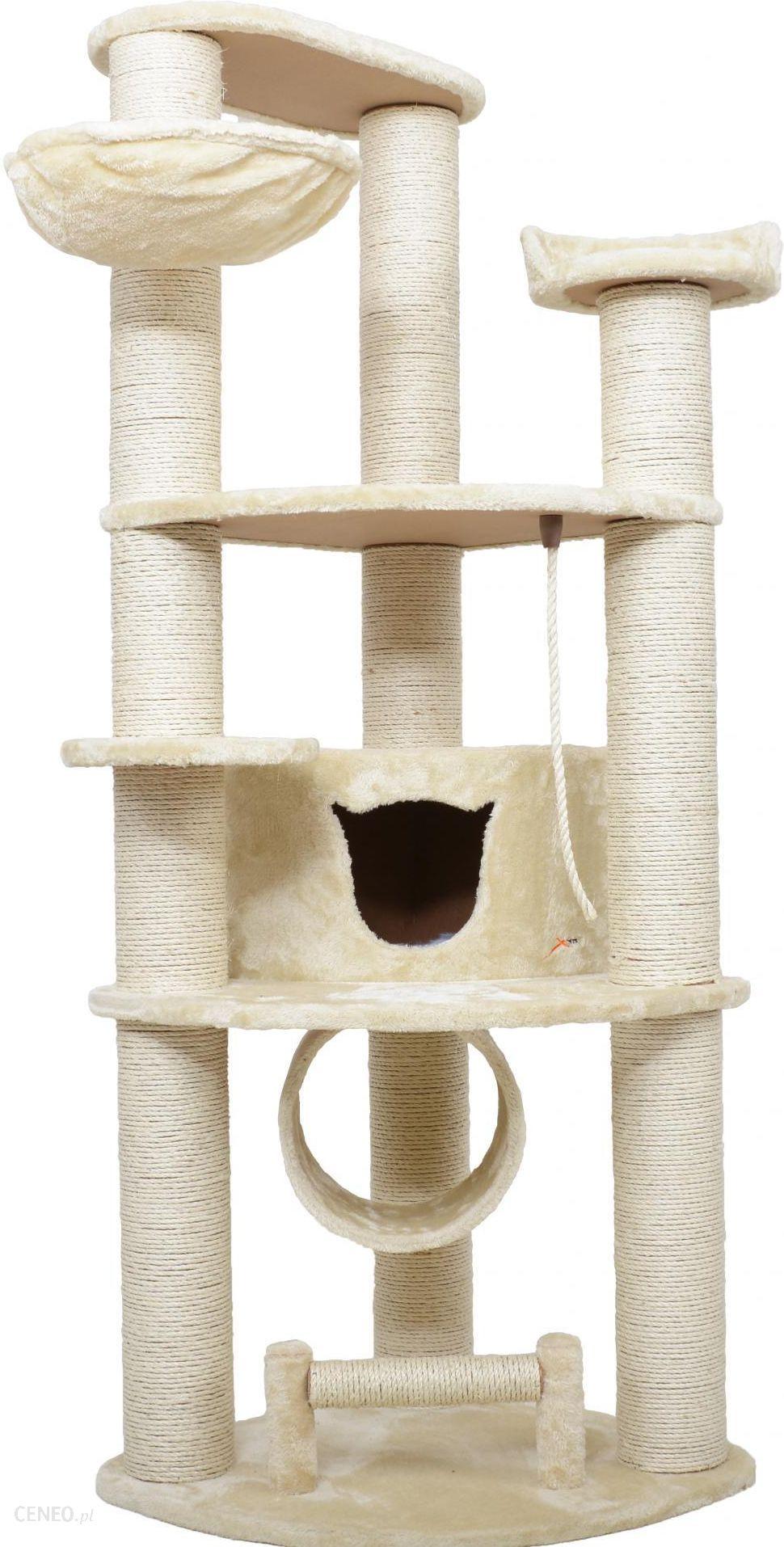 X Pets Domek Z Drapakiem Dla Kota Garfield Beżowy Ceny I Opinie