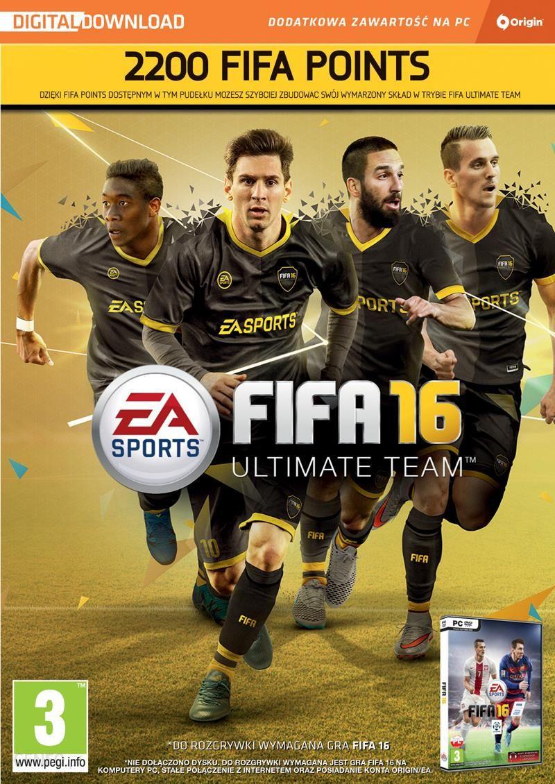 Fifa 16 Fifa Ultimate Team 2200 Points Karta Pre Paid Podarunkowa Ceny I Opinie Ceneo Pl