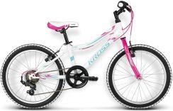Rower Kross Ella Miętowy 2016 - Rowery Inne Dziecięce