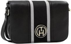 Torebka TOMMY HILFIGER Claire Flap Crossover BW56927410 Black 990 Ceny i opinie Ceneo.pl
