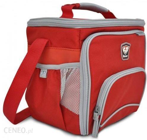 f298eb8f5b4be fitmark THE BOX FITMARK - Torba na 2 posiłki + shaker (czerwona) - zdjęcie  ...