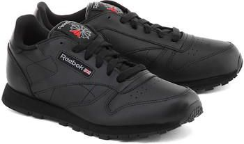 Reebok Classic Leather Czarne Skórzane Sportowe Męskie