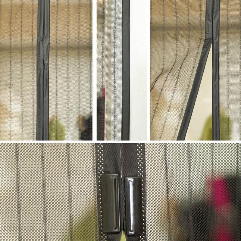 Sti Ltd Magnetyczna Moskitiera Na Drzwi Okno Balkon Magic Mesh Kx9069