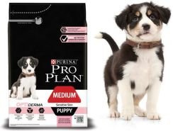 Pro Plan OptiDerma Medium Puppy Sensitive Skin 3kg