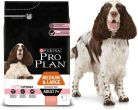 PURINA PRO PLAN MEDIUM LARGE ADULT 7+ Sensitive Skin OPTI DERMA Łosoś 3kg