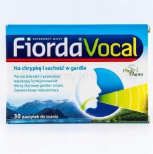 Fiorda Vocal 30pastyl.