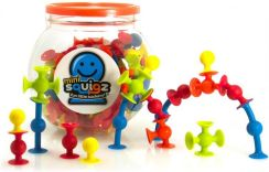 Fat Brain Toys Mini Squigz Przyssawki 75El. FA107
