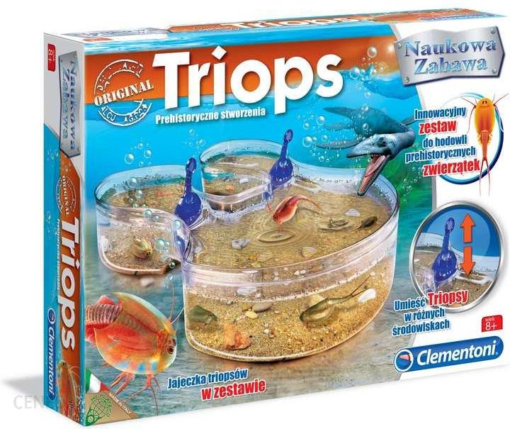 prezent dla 7-latka clementoni triopsy