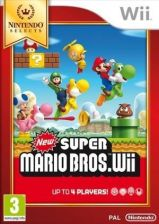 New Super Mario Bros. Wii Nintendo Selects (Gra Wii)