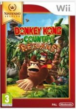 Donkey Kong Country Returns Nintendo Select (Gra Wii)