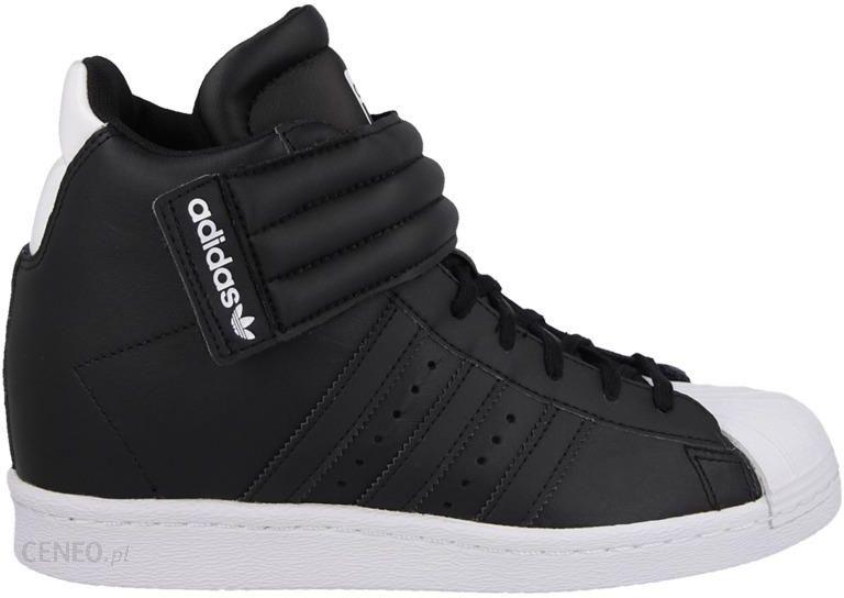 buty adidas na koturnie białe nowe|Darmowa dostawa!