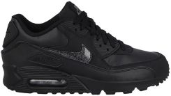 separation shoes 9cbe4 69c41 BUTY NIKE AIR MAX 90 LEATHER (GS) 724821 001 - czarnybiały