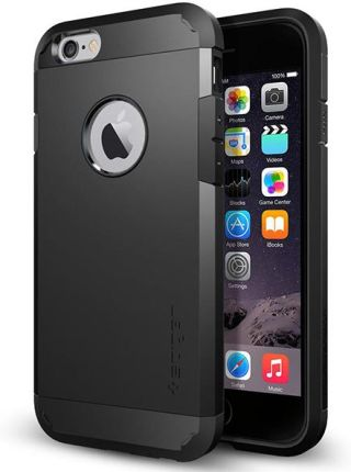 Spigen Tough Armor Iphone 6S Czarny (SGP11614)